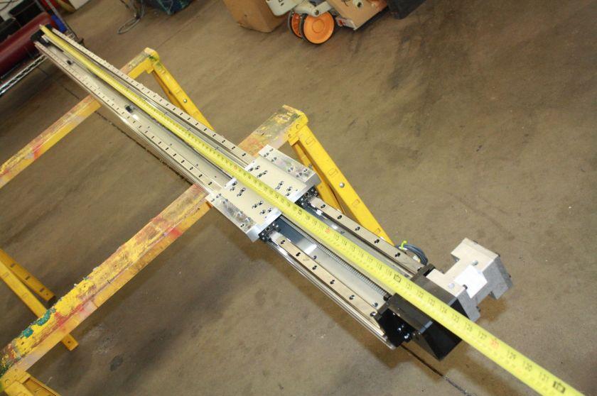 THK GL20N SHS20 Linear Belt Driven Actuator 2670L Linear Guide Rail