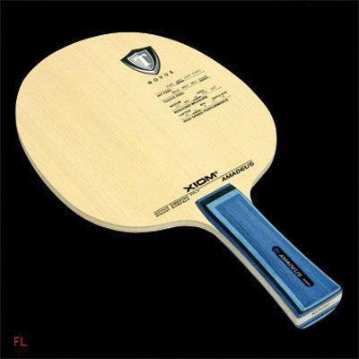 Xiom Amadeus Table Tennis Blade Ping Pong rubber racket