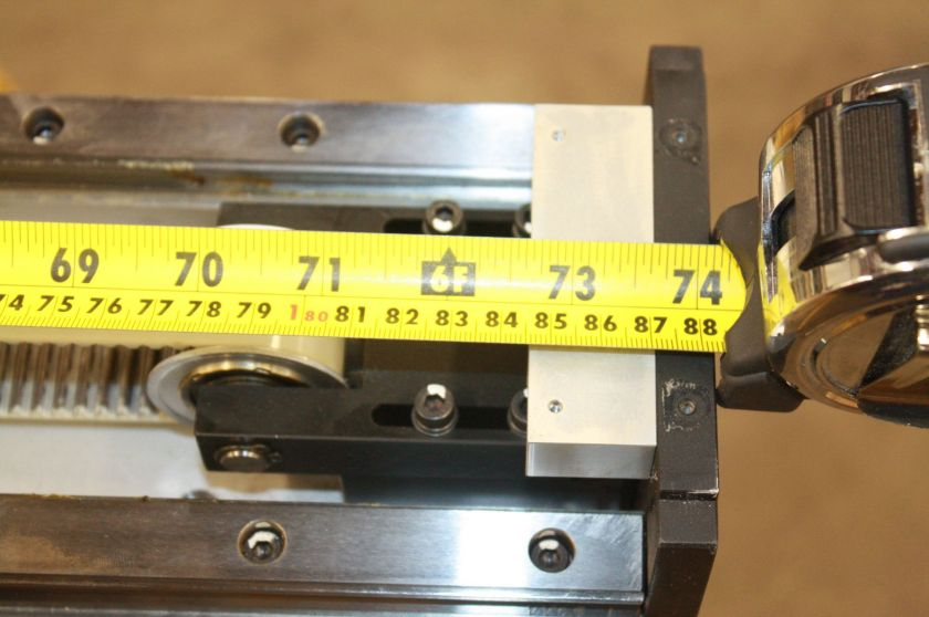 THK GL20N SHS20 Linear Belt Driven Actuator 1470L Linear Guide Rail