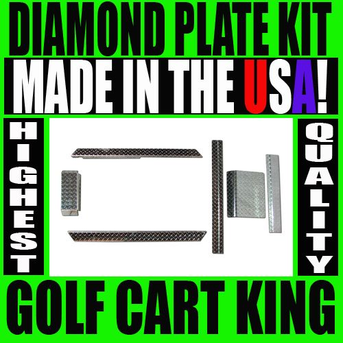 NEW Club Car DS Golf Cart Diamond Plate Accessory Kit