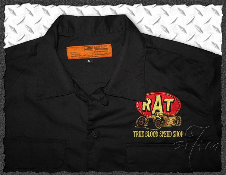 Rod★Casual Work Shirt Rockabilly Tattoo Wear S M L XL 2XL 3XL