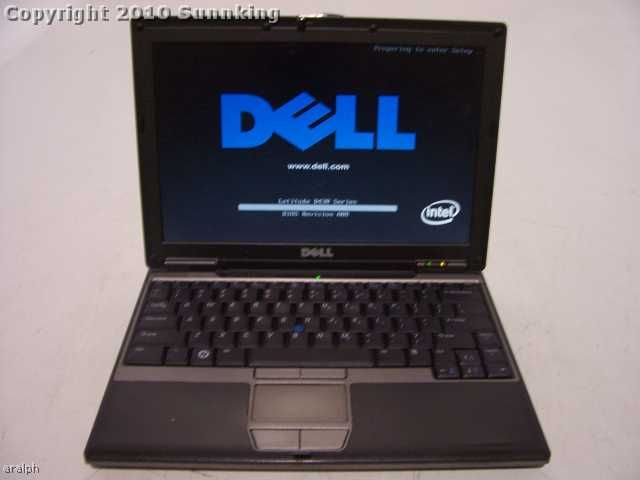 Dell Latitude D430 Core 2 Duo 1.2GHz 1GB 12.1 Battery WIFI Laptop
