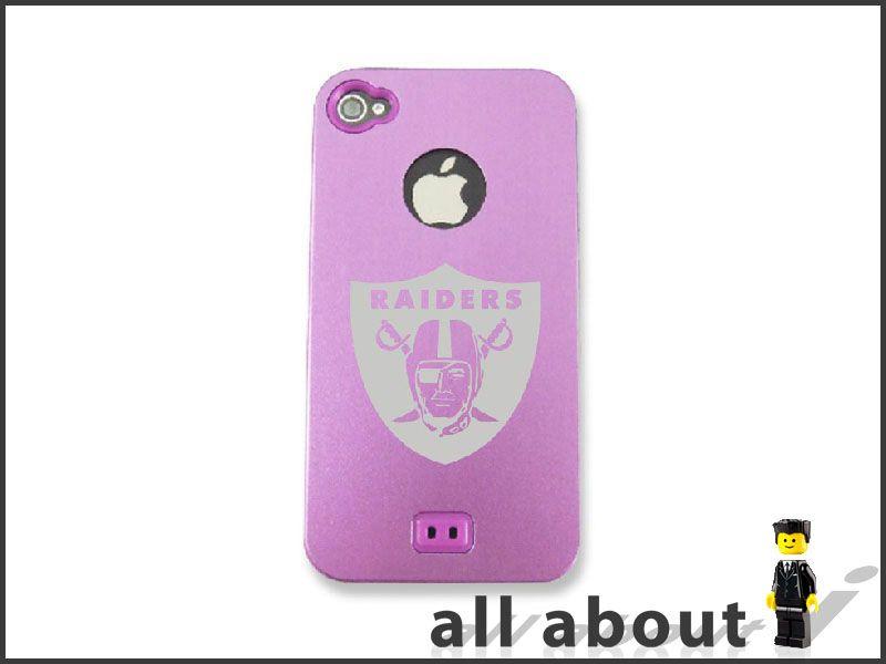 NFL Team Logo For i Phone 4 / 4S Hard Metal Alumor Case / Cover